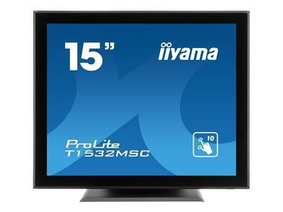 IIYAMA ProLite T1532MSC-B5X 38,1CM 15Zoll LCD 4:3 Projective Capacitive 10-Points Touch Bezel Free LED