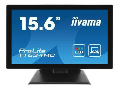 IIYAMA ProLite T1634MC-B5X 39,62CM 15.6Zoll LCD Projective Capacitive 10-Points Touch Bezel Free LED