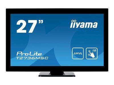 IIYAMA ProLite T2736MSC-B1 68,58CM 27Zoll LCD Projective Capacitive 10-Points Touch Full HD Bezel Free LED AMVA