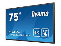 IIYAMA ProLite TE7568MIS-B1AG 189,2cm 75 Zoll 20-Points Touch Screen 3840x2160 IPS-Direct LED panel Full Metal Housing - Produktdetailbild 3
