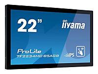 IIYAMA ProLite TF2234MC-B5AGB Display 55cm 22Zoll Full HD 1080p 1920x1080 2.1 megapixel HDMI Display Port USB touch - Produktdetailbild 1