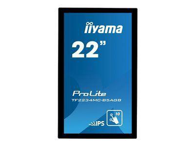 IIYAMA ProLite TF2234MC-B5AGB Display 55cm 22Zoll Full HD 1080p 1920x1080 2.1 megapixel HDMI Display Port USB touch
