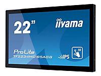 IIYAMA ProLite TF2234MC-B5AGB Display 55cm 22Zoll Full HD 1080p 1920x1080 2.1 megapixel HDMI Display Port USB touch - Produktdetailbild 4