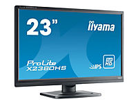 IIYAMA Prolite X2380HS-B1 58,4cm 23Zoll LED IPS FullHD 5ms VGA DVI HDMI 250 cd/m  Lautsprecher schwarz - Produktdetailbild 3