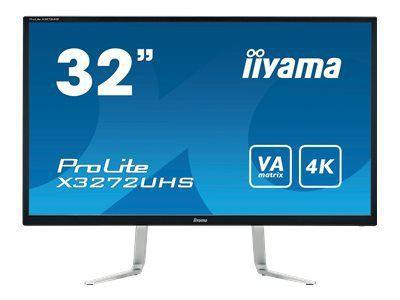 IIYAMA ProLite X3272UHS-B1 Display 80cm 32Zoll VA panel with 4K resolution HDMI DisplayPort integrated  speakers  and a headphone