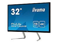 IIYAMA ProLite X3272UHS-B1 Display 80cm 32Zoll VA panel with 4K resolution HDMI DisplayPort integrated  speakers  and a headphone - Produktdetailbild 6