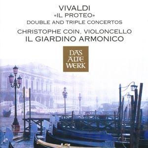 'Il Proteo'/Double & Triple Concertos, Christophe Coin, G. Antonini, Il Giardino Armonico