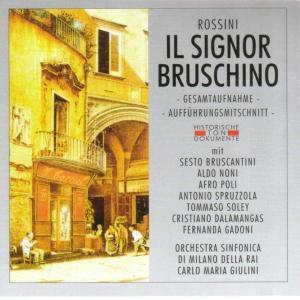 Il Signor Bruschino, Orch.Sinf.Di Milano Della Rai