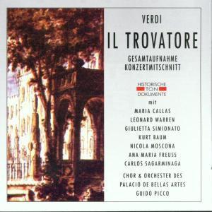 Il Trovatore (Ga), Chor & Orch.Des Palacio De Las Bellas Artes