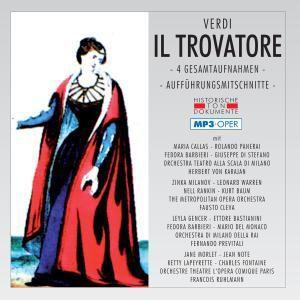 Il Trovatore (mp 3), Diverse Interpreten