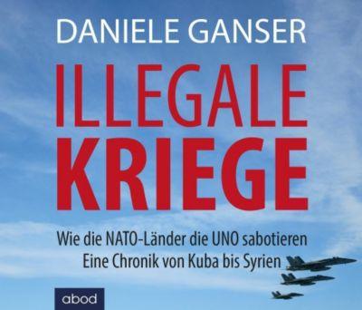 Illegale Kriege,  4 MP3-CDs, Daniele Ganser