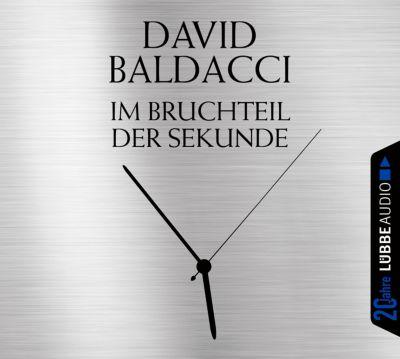 Im Bruchteil der Sekunde, 6 Audio-CDs, David Baldacci