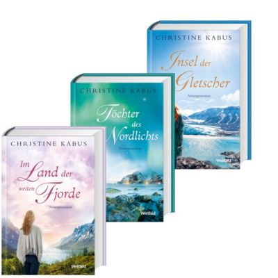 Im Land der weiten Fjorde/Töchter des Nordlichts/Insel der blauen Gletscher, Christine Kabus