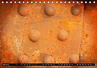 Im Lauf der Zeit - Bilder aus Rost (Tischkalender 2019 DIN A5 quer) - Produktdetailbild 6