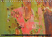 Im Lauf der Zeit - Bilder aus Rost (Tischkalender 2019 DIN A5 quer) - Produktdetailbild 4