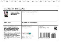 Im Lauf der Zeit - Bilder aus Rost (Tischkalender 2019 DIN A5 quer) - Produktdetailbild 13