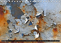 Im Lauf der Zeit - Bilder aus Rost (Tischkalender 2019 DIN A5 quer) - Produktdetailbild 11