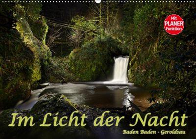 Im Licht der Nacht - Baden Baden Geroldsau (Wandkalender 2019 DIN A2 quer), Stefan Bau