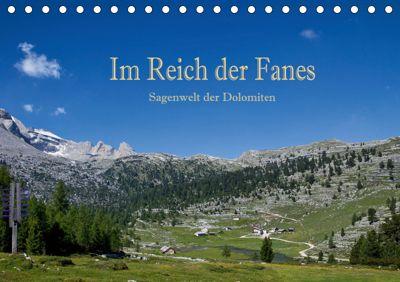 Im Reich der Fanes - Sagenwelt der Dolomiten (Tischkalender 2019 DIN A5 quer), Hans Pfleger