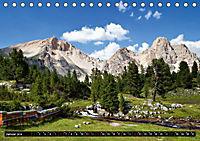 Im Reich der Fanes - Sagenwelt der Dolomiten (Tischkalender 2019 DIN A5 quer) - Produktdetailbild 1