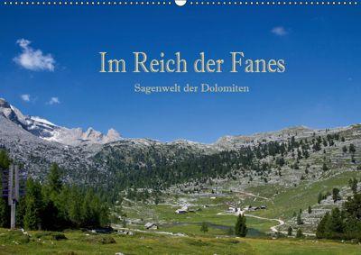 Im Reich der Fanes - Sagenwelt der Dolomiten (Wandkalender 2019 DIN A2 quer), Hans Pfleger