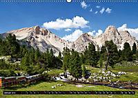 Im Reich der Fanes - Sagenwelt der Dolomiten (Wandkalender 2019 DIN A2 quer) - Produktdetailbild 1