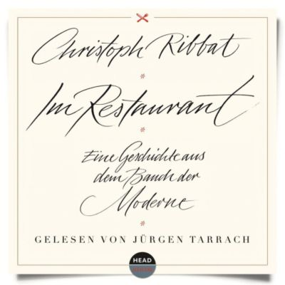 Im Restaurant, 5 Audio-CDs, Christoph Ribbat