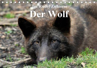 Im Rudel Zuhause - Der Wolf (Tischkalender 2019 DIN A5 quer), Arno Klatt