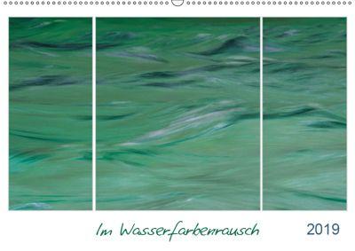 Im Wasserfarbenrausch (Wandkalender 2019 DIN A2 quer), Frauke Fuck