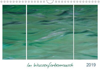 Im Wasserfarbenrausch (Wandkalender 2019 DIN A4 quer), Frauke Fuck