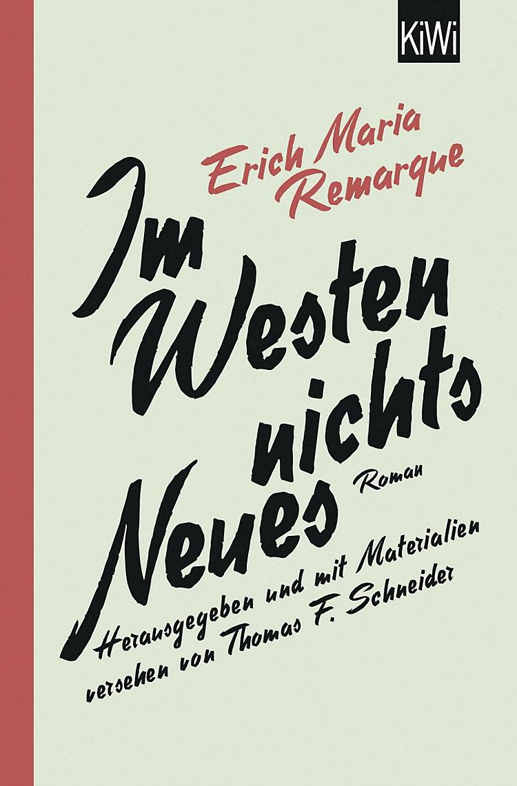 Im Westen Nichts Neues Buch Versandkostenfrei Bei Weltbild