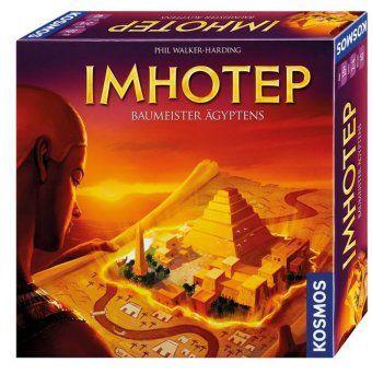 Imhotep - Baumeister Ägyptens (Spiel), Phil Walker-Harding