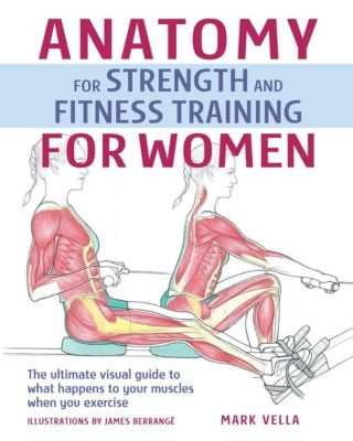 IMM Lifestyle Books: Anatomy for Strength and Fitness Training For Women, Mark Vella