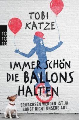 Immer schön die Ballons halten - Tobi Katze |