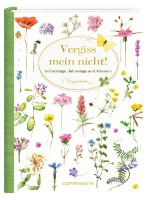 Immerwährendes Geburtstagsbuch - Vergiss mein nicht!