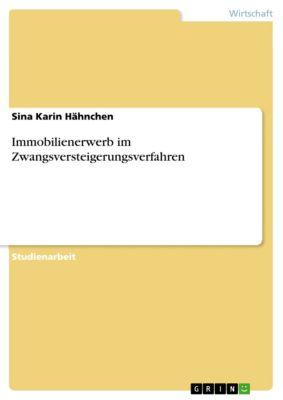Immobilienerwerb im Zwangsversteigerungsverfahren, Sina Karin Hähnchen