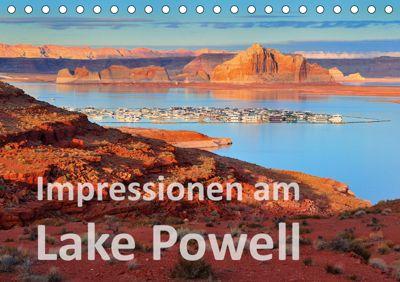 Impressionen am Lake Powell (Tischkalender 2019 DIN A5 quer), Dieter-M. Wilczek