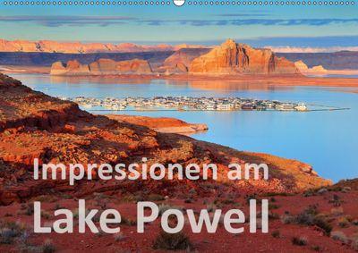 Impressionen am Lake Powell (Wandkalender 2019 DIN A2 quer), Dieter-M. Wilczek