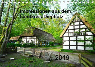 Impressionen aus dem Landkreis Diepholz (Tischkalender 2019 DIN A5 quer), Heinz Wösten