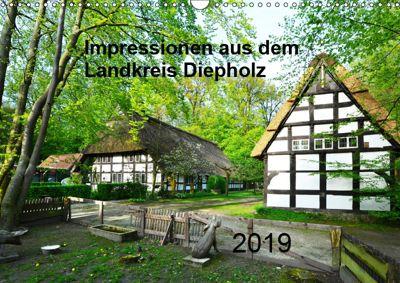 Impressionen aus dem Landkreis Diepholz (Wandkalender 2019 DIN A3 quer), Heinz Wösten