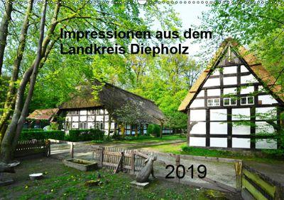 Impressionen aus dem Landkreis Diepholz (Wandkalender 2019 DIN A2 quer), Heinz Wösten