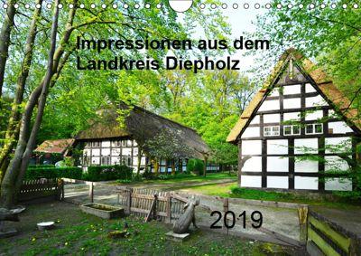 Impressionen aus dem Landkreis Diepholz (Wandkalender 2019 DIN A4 quer), Heinz Wösten