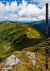 Impressionen aus der Tatra (Tischkalender 2019 DIN A5 hoch) - Produktdetailbild 6