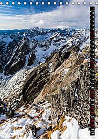 Impressionen aus der Tatra (Tischkalender 2019 DIN A5 hoch) - Produktdetailbild 12