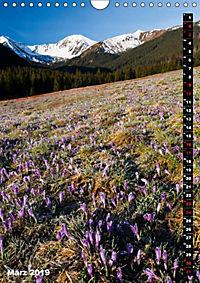 Impressionen aus der Tatra (Wandkalender 2019 DIN A4 hoch) - Produktdetailbild 1