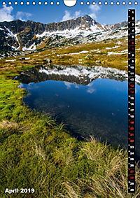 Impressionen aus der Tatra (Wandkalender 2019 DIN A4 hoch) - Produktdetailbild 4