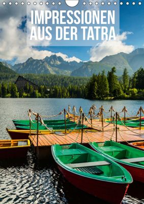 Impressionen aus der Tatra (Wandkalender 2019 DIN A4 hoch), Mikolaj Gospodarek