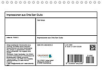 Impressionen aus Orta San Giulio (Tischkalender 2019 DIN A5 quer) - Produktdetailbild 13