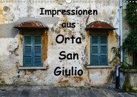 Impressionen aus Orta San Giulio (Wandkalender 2019 DIN A3 quer), Gabi Hampe