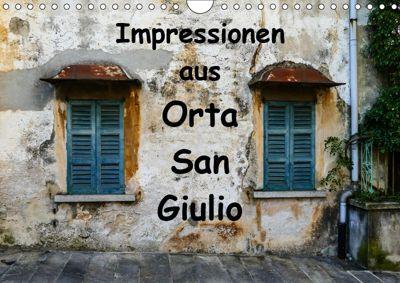Impressionen aus Orta San Giulio (Wandkalender 2019 DIN A4 quer), Gabi Hampe